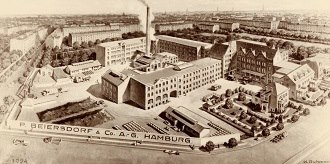 view of the plant Hamburg 1924