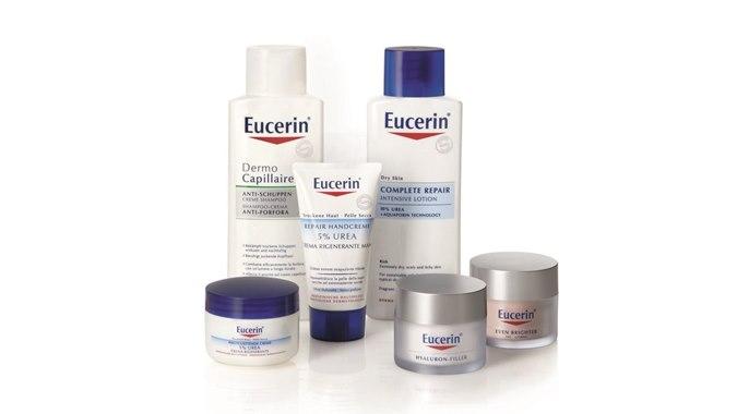 Medical skin care products from Eucerin