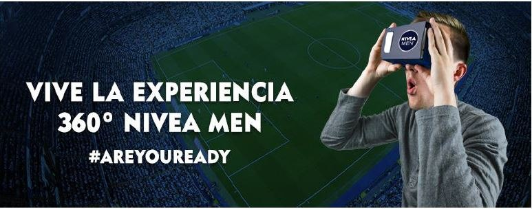 Virtual Reality NIVEA MEN