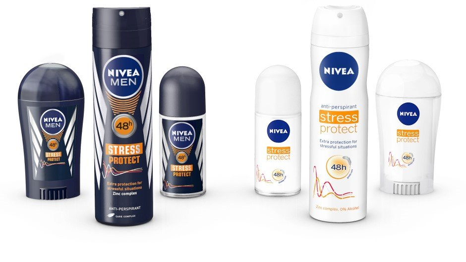 NIVEA and NIVEA MEN Stress Protect Range Beiersdorf