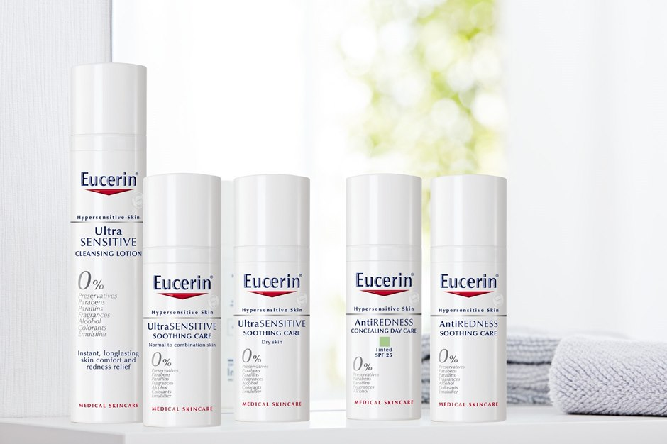 The new Eucerin range tackles all aspects of hypersensitive skin.