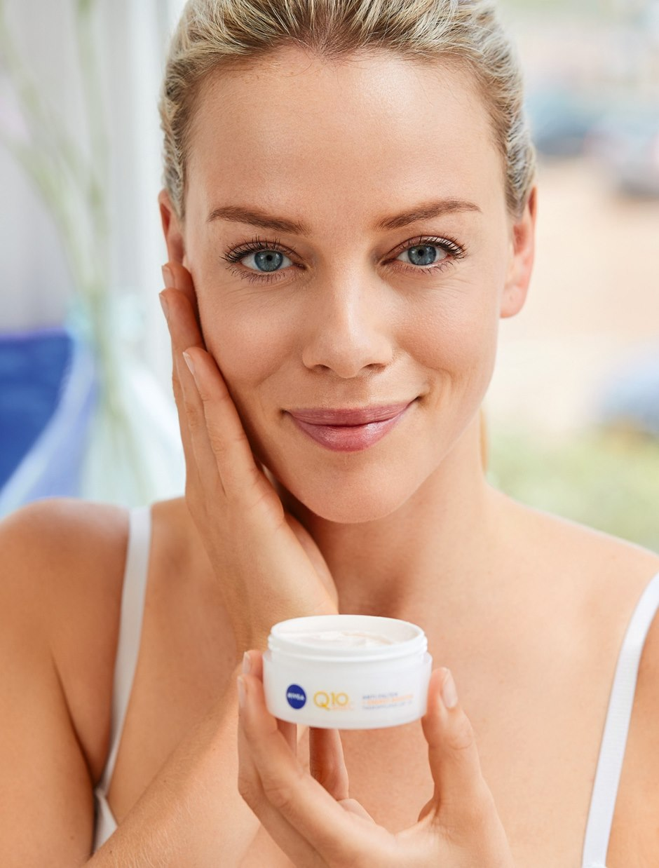 Successful: NIVEA skin care products with Q10