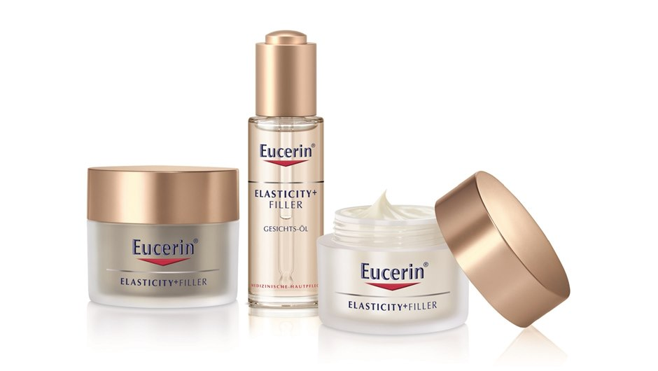 Eucerin Elasticity and Filler Product Range