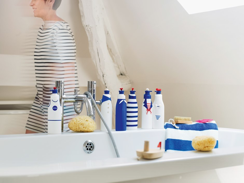 Upcycling Bathroom products Beiersdorf